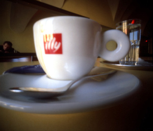 Andreas Wolkerstorfer | Behind an Illy cup | Austria