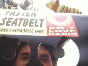 edwin ka edong | Fasten Seatbelts | Taxi, Makati bridge, Philippines