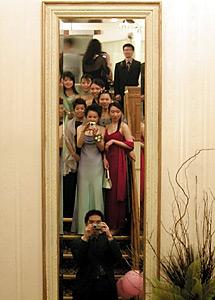 Flora Chan | Math Grad Ball 2004 | Waterloo Inn, Waterloo, ON, Canada