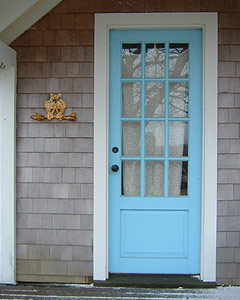 Jackie Sullivan | Blue Door | Aquinnah, Martha's Vineyard, MA
