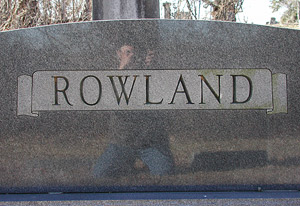 Michael Rowland | Grave Reflection | Alexandria, Tennessee, USA