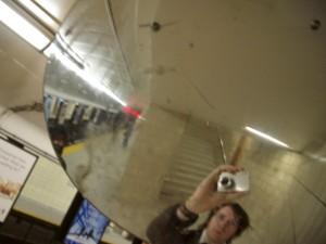 Shane MacPherson   Subway mirror   Toronto, Ontario