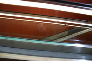 Greg Z | Riding the escalator. | The Netherlands