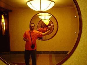 Aaron B | Lobby | Lobby of the Hotel Edison, NY, NY.