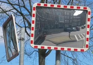 Merel Roze | Traffic Mirror | Amsterdam