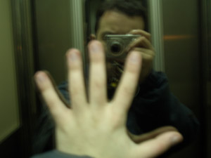 Guillermo Ruiz   Elevator Reflection   Barcelona, Spain