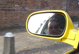 Krijn van der Spoel | Dangerous Picture | In my car, driving home from work (Weesp, NL)