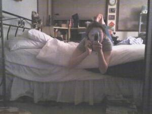 Min Jung Kim | Moblog Mirror Shots - With Feet | Oakland, CA