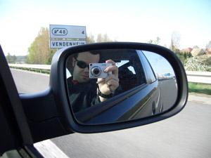 Guillermo Ruiz | Rearview Mirror | Somewhere France