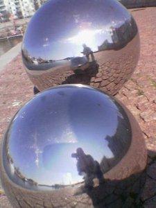 Jim | mirror spheres | Helsinki