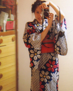 Christina F. | Kimono girl | Utsunomiya, Japan