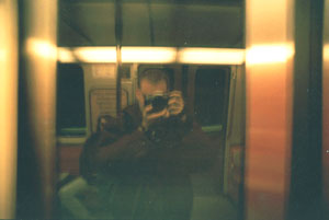 phil williams | Montreal Subway Self Portrait