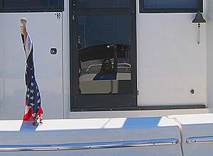 Belinda Chambers | Boat Back | Squalicum Harbor in Bellingham, WA