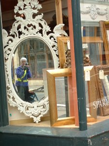 Judith Acand | An ornate Mirror | Clifton Village, Bristol UK