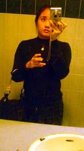 Jennifer Wong | Bathroom Mirror in Toronto | Toronto, Ontario, Canada