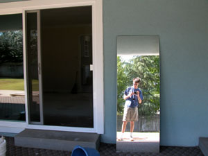 Andrew Ranta | Old Bathroom Mirror | Fresno, CA