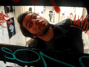 Daniel Boud | Grafitti covered bathroom | Sydney, Australia