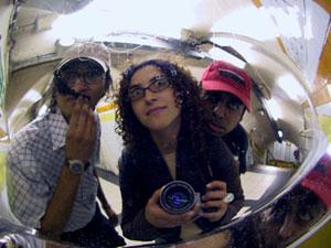 Firenze Lazaroni | Transparency Slide | Convent Garden Tube Station, London