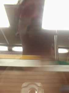 Jorge Fuentes | Cansado....zzz... | Usach, Santiago de chile (metro estacion, Sta. Ana)