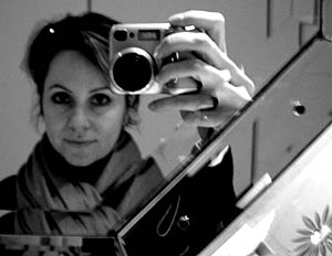 Carolyn Hall | in the bathroom | New York
