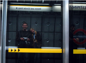Joshua Kaufman   Mirror Underground   Wesminster Underground Station, London, England