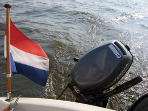 Audrey J | Sailing without wind | Somewhere on the water in Friesland, The Netherlands