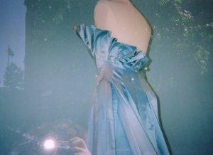 myla | blue dress | downtown seattle