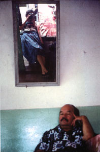 Leyla Torres | Self portrait with my father | Puente Nacional, Colombia