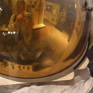 Peter Zinn | Apollo astronaut helmet | Washington DC, Smithsonian