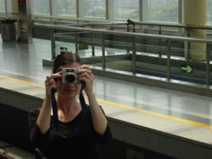Melissa Nelson | Subway Mirror | Beijing, China