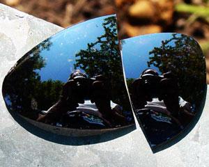 j. patrick | broken sunglass lens in paris gardens, , , | paris, france