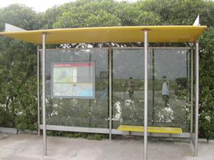 Alberto Bastos | Bus stop | El Prat, Spain