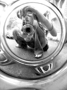 Allison Vollmar | Portrait in a Wheel | Massachusetts, USA