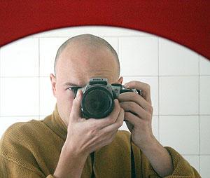 Piotrek Pecherz | modlinska toilet mirror | wroclaw, poland