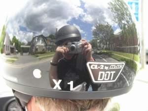 shirley updenkelder | rear-view helmet | Lancaster County, PA