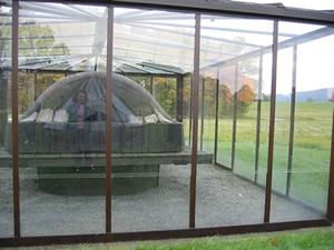 Marissa Morrison | Sarcophagi in Glass House | Mountainville, NY