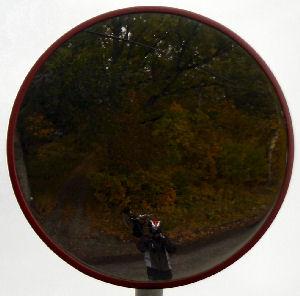 Stefan Jansson | Convex Traffic Mirror | Tungelsta