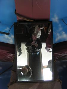 Alan Clifford | Glass floor mirror | Cn tower, Toronto.