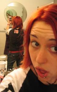 Heather Cooze | Woah! redhead, baby!