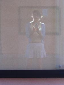 Amelia Sechman | My friend: my reflection | My school