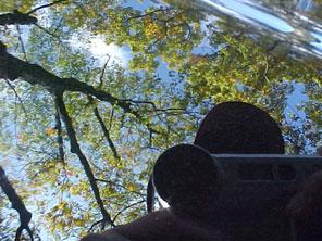 Pete | The sky through the hood of a car | ridgewood, New Jersey