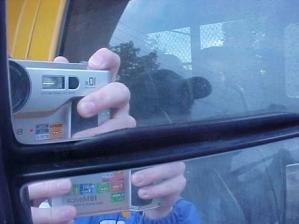 Richard Stroker | School Bus Reflection | Ridgewood