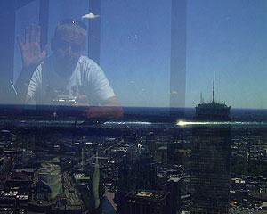 Simon Jones | Boston in summer | John Hancock Tower, Boston, USA.