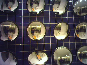Michael Angeles | mirror(s) in the bathroom | New York, NY