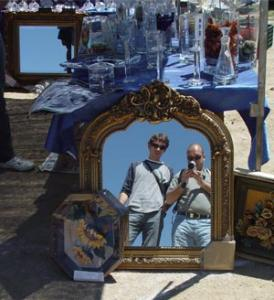 Alvaro Ibanez | Flea Market Mirror Sale | Navecerrada (Madrid, Spain)