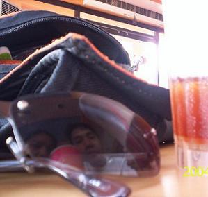 edwin ka edong   I see Me and Iced Tea   Boracay, Philippines