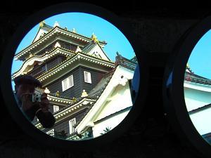 daan leussink | lights 2# | okayama castle, japan