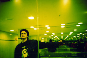Alvaro Cipagauta   Toilette + mirror + perspective   Santiago - Chile