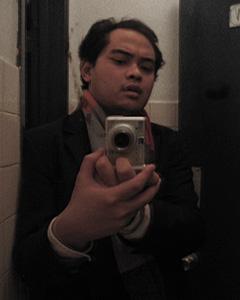 Michael Marc� | Bathroom Mirror, The Largo | The Largo, Los Angeles