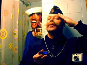 hugo solo | The imaginary Colonel Solo�s lonely Military Parade. | barcelona,spain